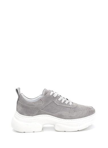 Derimod Kadın Ayakkabı (21360) Casual Taş